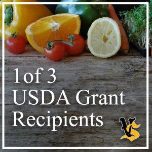 1 of 3 USDA Grant Recipients